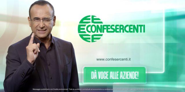Campagna soci 2019: il testimonial è Carlo Conti