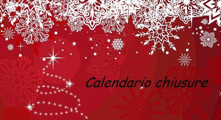 Periodo natalizio: chiusure dei nostri uffici
