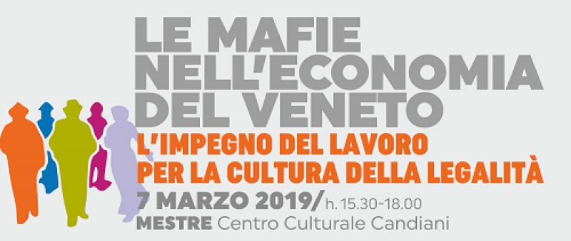 Mafie in Veneto: incontro pubblico a Mestre