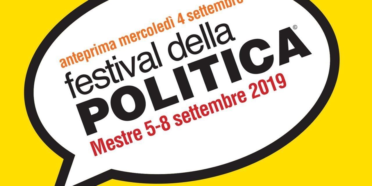 Festival della Politica: dal 5 all'8 settembre 2019