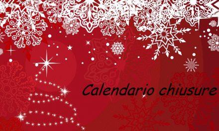 Chiusure natalizie degli Uffici Confesercenti