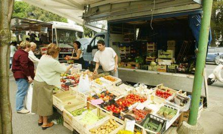 Mercati nel comune di Venezia: solo alimentare e florovivaisti