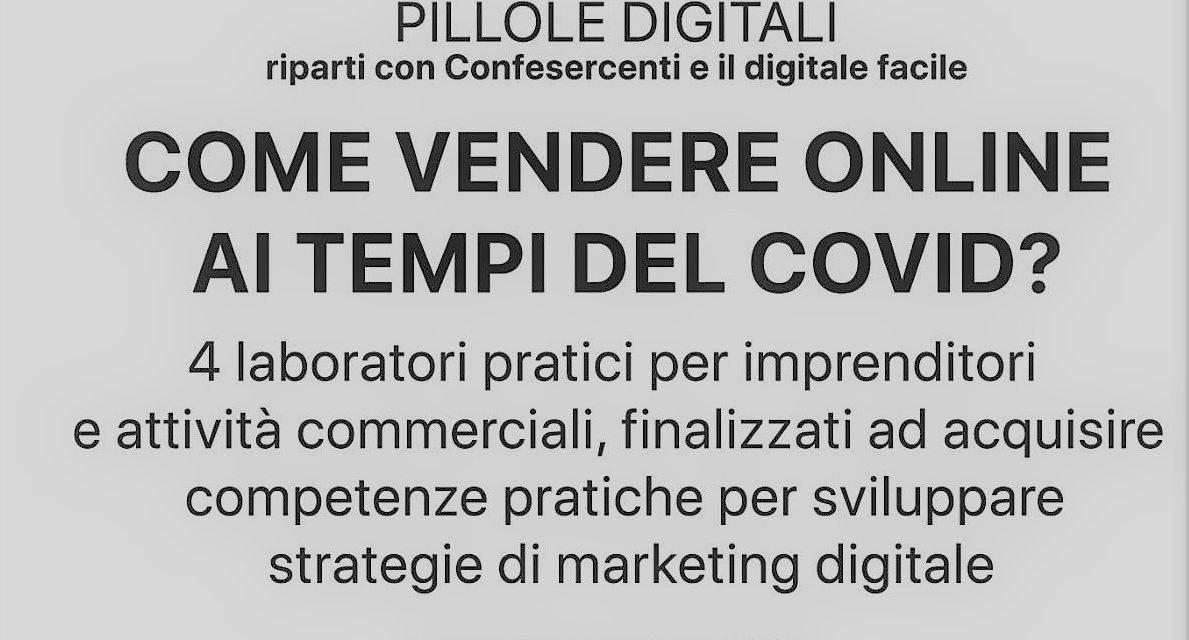 """""""Pillole digitali"""": 4 appuntamenti di formazione web marketing"""