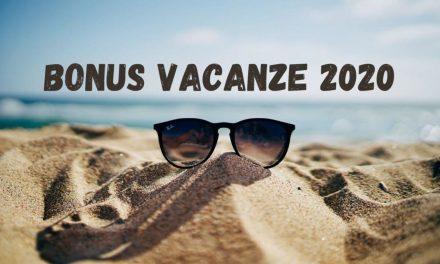 Bonus Vacanza dal 1 luglio 2020