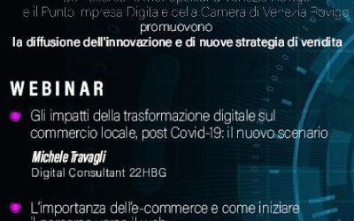 Webinar: la diffusione dell'innovazione e di nuove strategie di vendita