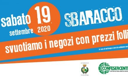 Rovigo: sabato 19 settembre torna lo Sbaracco