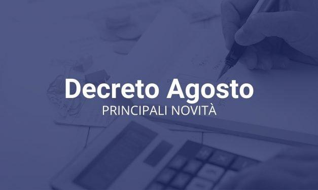 Decreto Agosto è legge: norme fiscali