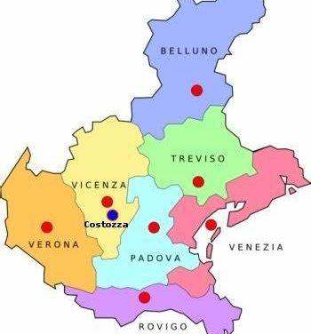 Il Veneto è zona gialla
