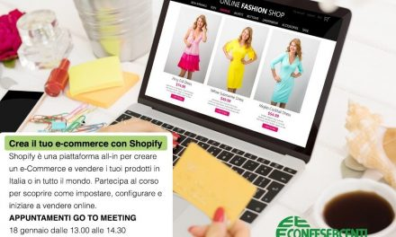 Crea il tuo negozio on-line: 3 incontri formativi in streaming