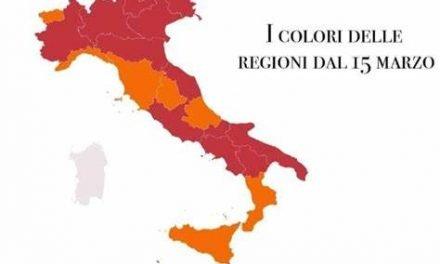 Anche il Veneto in zona rossa da lunedì 15 marzo
