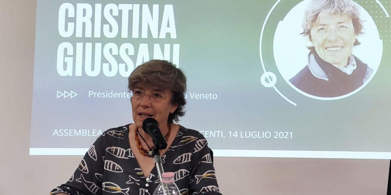 Rieletta Cristina Giussani al vertice di Confesercenti Veneto